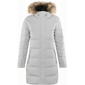 Helly Hansen Aden Down Parka Women Grey Melange